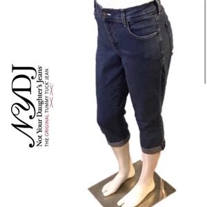 NYDJ Not Your Daughter's Jeans Capri Pants Size 8